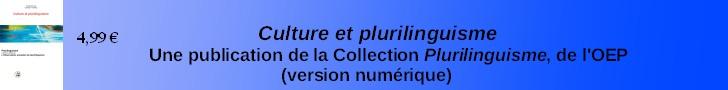 Plurilinguisme et culture (versions numérique)