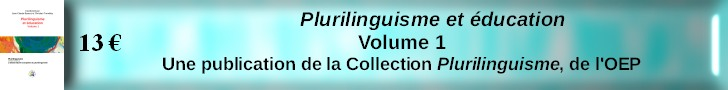 Plurilinguisme et éducation - vol.1